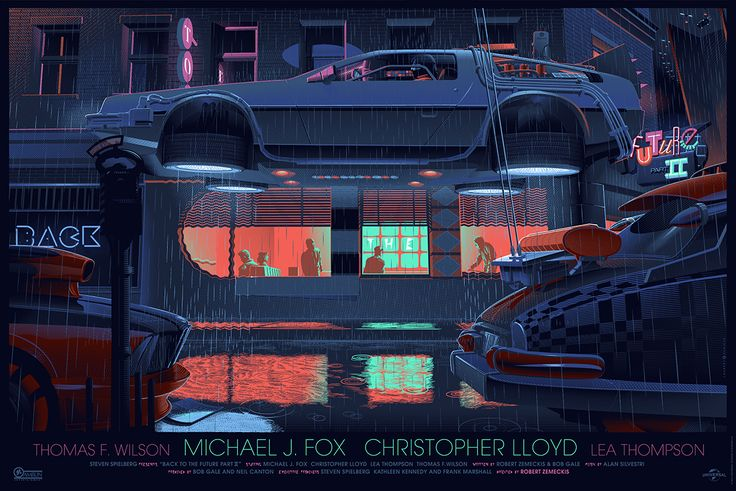 BACK TO THE FUTURE PART II Mondo Poster by Laurent Durieux — GeekTyrant