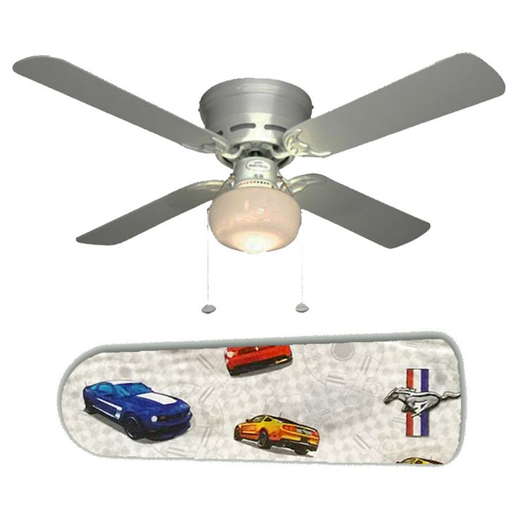 Ford Mustang Ceiling Fan W Light Kit Or Blades Only Or
