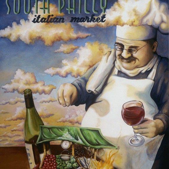 South Philly Italian Market 8x10 Matted Print Philadelphia Pa Kitchen Decor Sets Chef Kitchen Decor Kitchen Design Decor