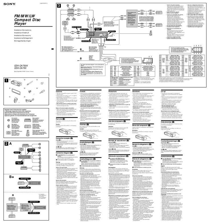 Wiring Diagram For Car Stereo Sony Valid Sony Xplod Stereo