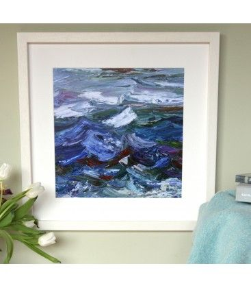Dancing Atlantic Waves. Limited Edition Signed Art Print