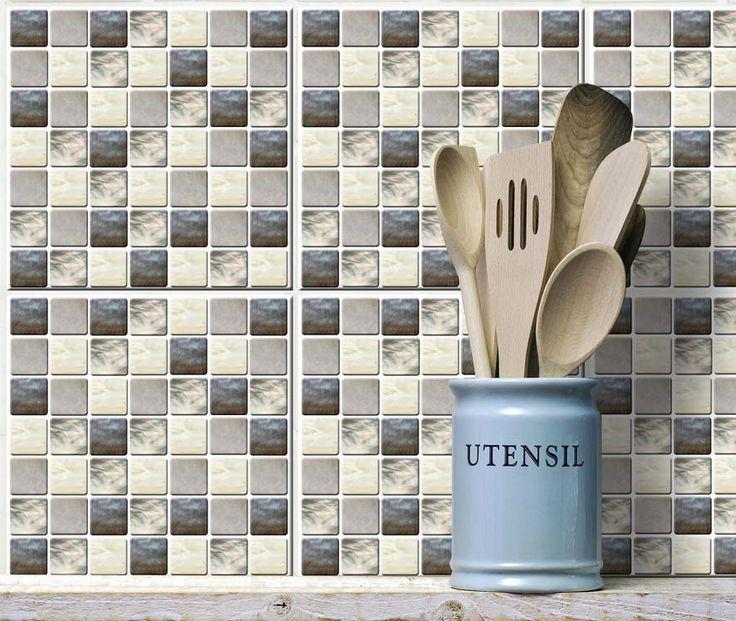 25+ parasta ideaa Pinterestissä Fliesenaufkleber mosaik - küchenpaneele selber machen