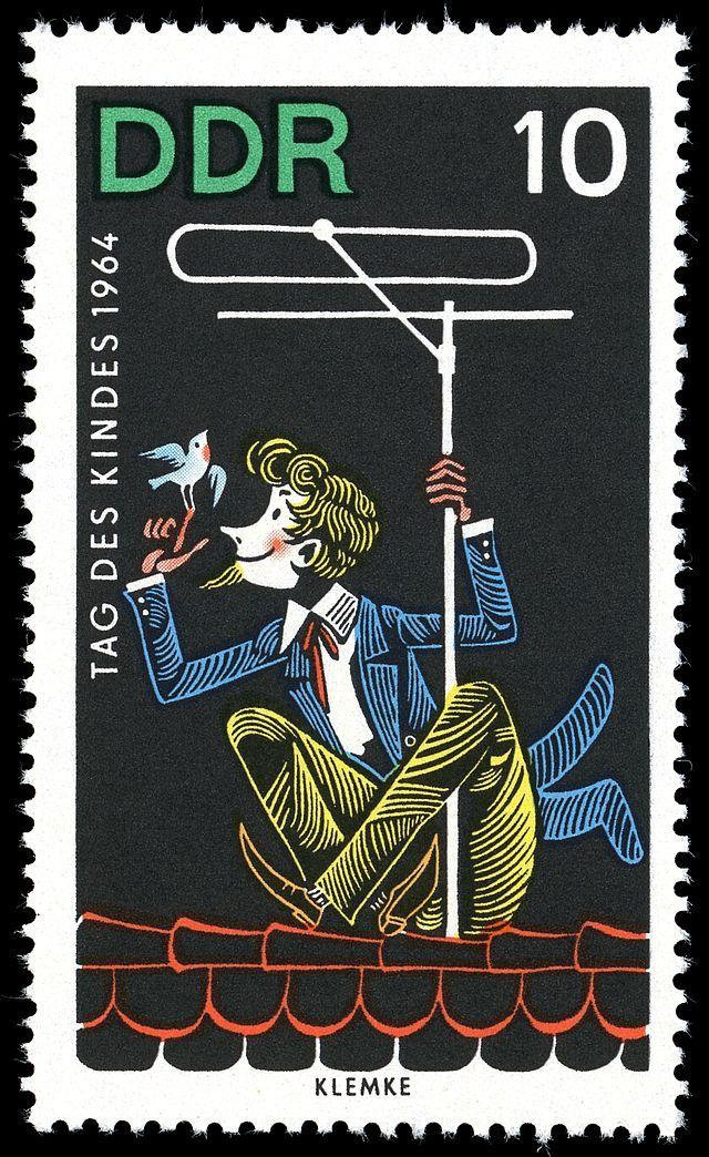 Werner Klemke / Briefmarken-Jahrgang DDR 1964
