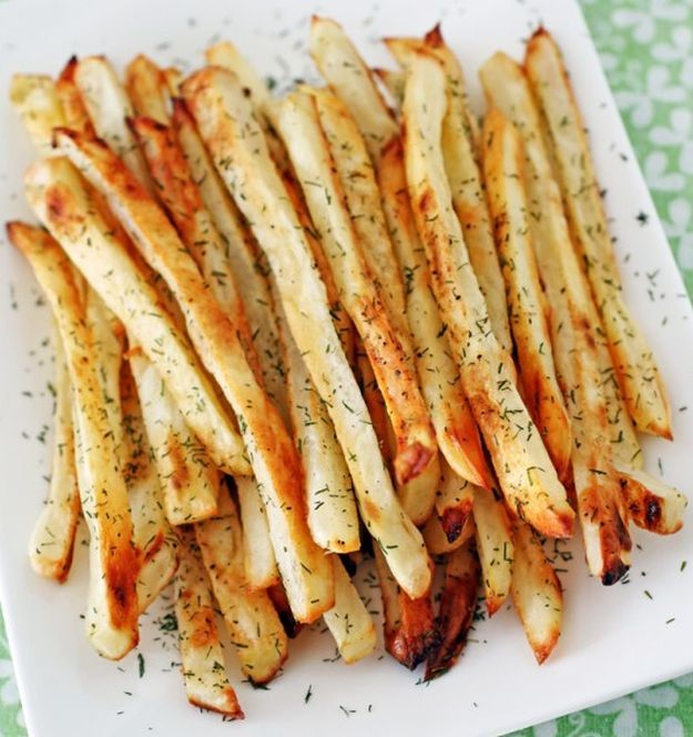 Pickle-Brined French Fries | 12 Tasty French Fries Recipes You Won't Forget by Homemade Recipes at http://homemaderecipes.com/french-fries-recipes/