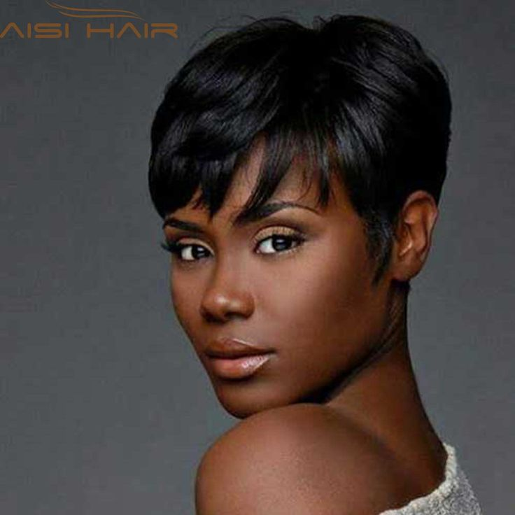 Synthetic Short Wigs for Black Women Pixie Cut Wig Short Black Hair Natural Cheap Hair Wig Synthetic Women Hair Cuts Female