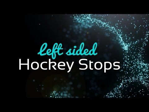 Roller Derby Left Sided Hockey stops intro - YouTube