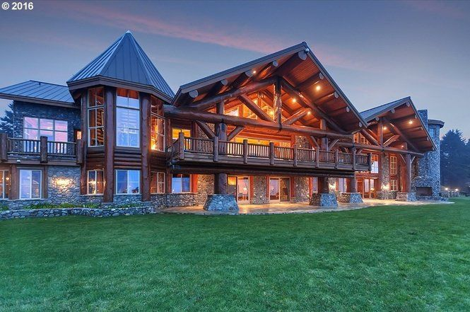 On the market: Cozy to monster-size log homes (photos) | OregonLive.com