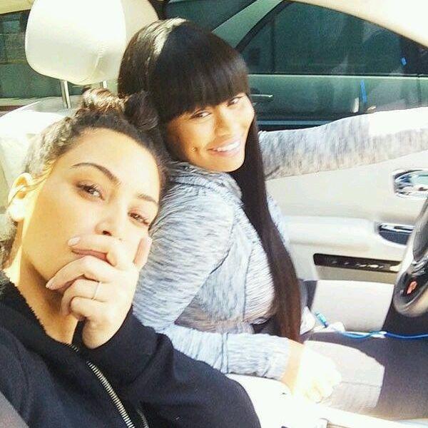 Top 100 kim kardashian hairstyles photos Kim and Chy 😍❤ #blacchyna #kimkardashian #robkardashian #chymafia #chydoll See more http://wumann.com/top-100-kim-kardashian-hairstyles-photos/