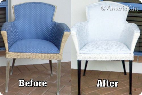 17 best images about chair reupholstery on pinterest for Recover wicker furniture