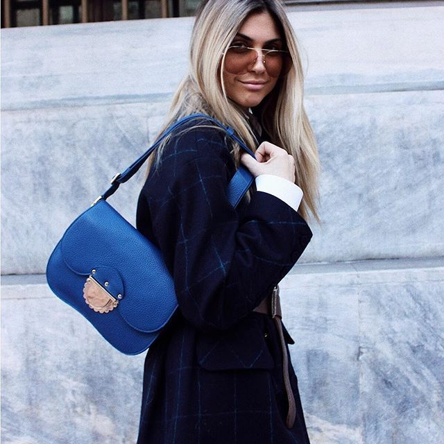 07a8f651635 Because self-confidence is charming.  natgeorgala with her Furla Ducale bag.  Discover more about our new SS18 collection, check the link in bio.