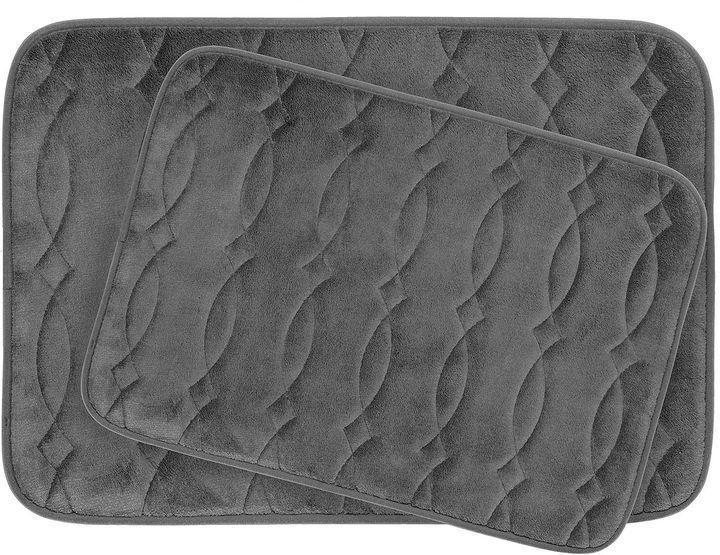 Asstd National Brand Bounce Comfort Grecian 2-pc. Memory Foam Bath Mat Set