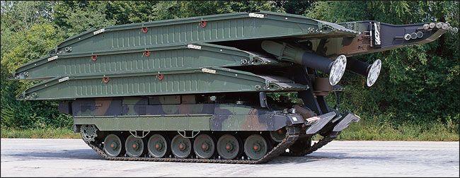 Leopard 2 Panzerschnellbrücke 2 AVLB