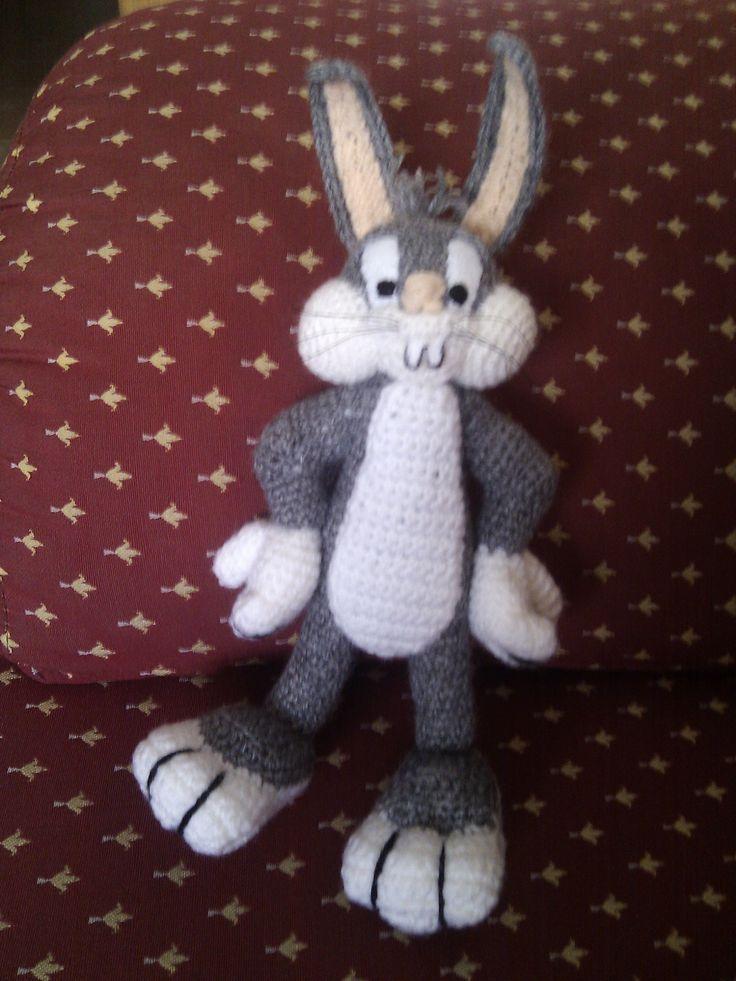 Amigurumi Conejo Kawaii : Amigurumi del conejo bugs realizado a ganchillo seg�n