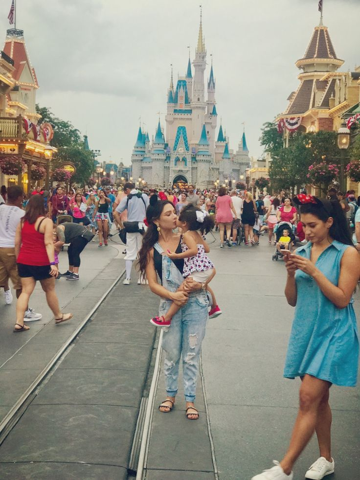 My beautiful daughter and I in Disney!
