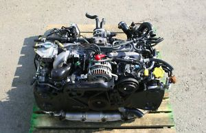 JDM SUBARU LEGACY (BH5) EJ206 TWIN TURBO ENGINE (1998-2003) Calgary Alberta image 1