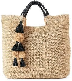 SONOMA Goods for LifeTM Lindsay Straw Tote
