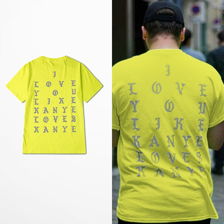 I love you like Kanye T-Shirt //Price: $29.95 & FREE Shipping
