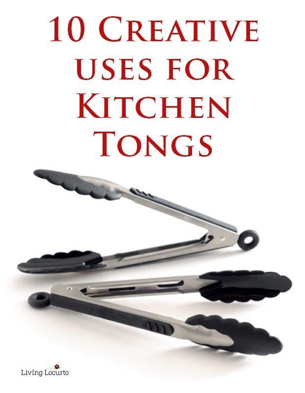 Kitchen tongs are one of the most useful items you can own. They can be used for all kinds of things like tossing a salad or pasta, and pulling corn on the cob or hot dogs out of a pot of boiling water. Think of tongs as a safe, extension of your hands! If you flip meat and vegetables on the grill with a fork you will end up puncturing it and having the juices escape – but not if you use tongs! Read more as eBay shares ten creative uses for kitchen tongs.