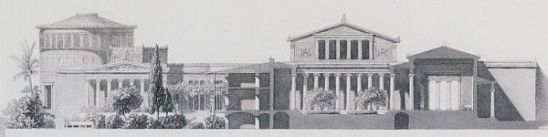 """A summer night's dream of a great architect"""": K.F. Schinkel's plan for a royal palace on the Acropolis of Athens http://www.quondam.com/18/1834.htm"""