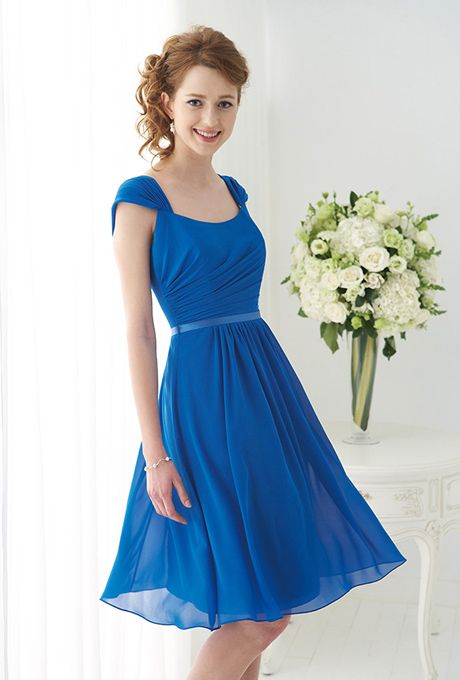 Riveting, Royal Blue Bridesmaids Gowns. #bridesmaids #blue #dresses #weddings