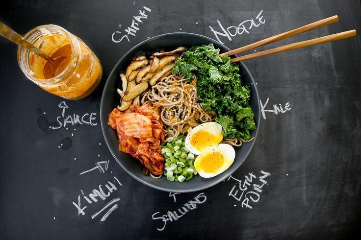 Soba Noodle Bowl w/ Sesame Dressing