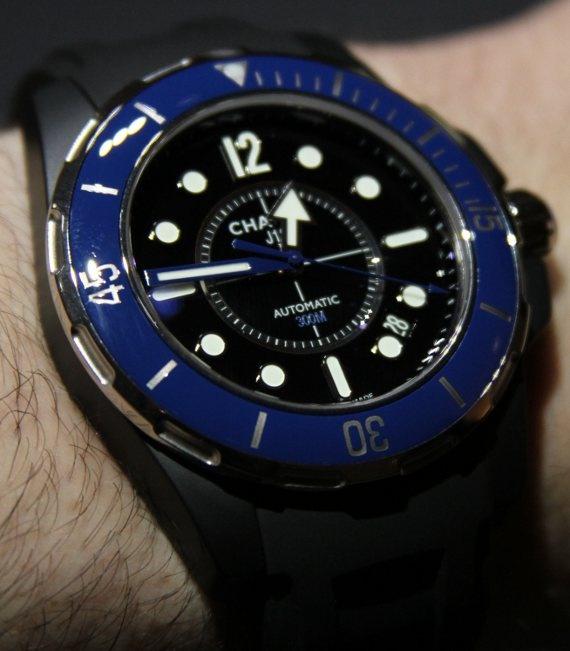 Chanel J12 Mariner azul