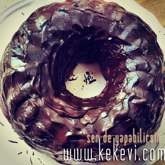 Çikolata Kaplı Portakallı Kakaolu Kek | Ayşenur Altan Yemek Tarifleri