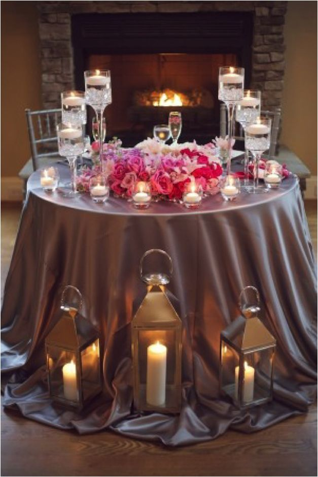 1000 Images About Romantic Dinner Table Decorations On