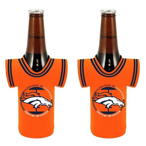 Denver Broncos Super Bowl 50 Champions Bottle Jersey-2 Pack