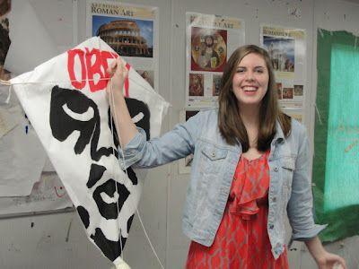 . Art of Apex High School: Art History Kites 2012