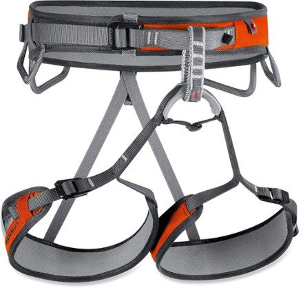 With adjustable leg loops and a lightweight design, the Mammut Ophir 3 Slide Climbing Harness is a great all-rounder for climbing at the crag or summiting an alpine peak. Available at REI, 100% Satisfaction Guaranteed.
