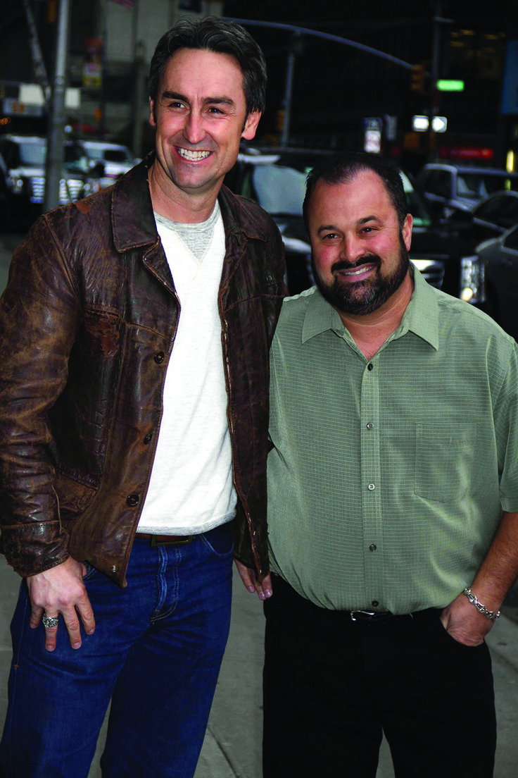 cast of american pickers | American pickers Mike Wolfe (left) and Frank Fritz are headed to town ...