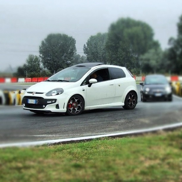 Stefano's car pic will be part of our Social Wall at the Bologna Motor Show. Via @Instagram #MyAbarth