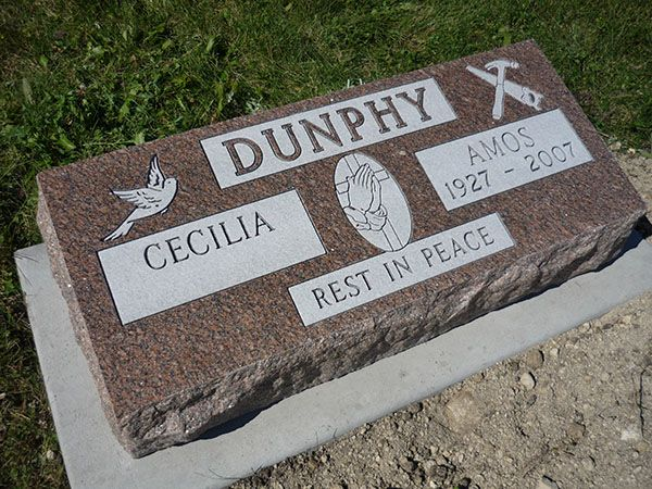Pay tribute to your loved ones who are no more with you with beautifully crafted slant #gravemarkers and #gravestones, monuments, brookside cemetry at Larsen's Memorials. Visit us online or CALL-(204) 633-5053