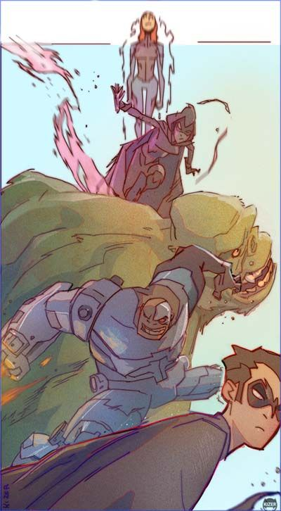 Teen Titans Lets Go by kizer180 at deviantART.