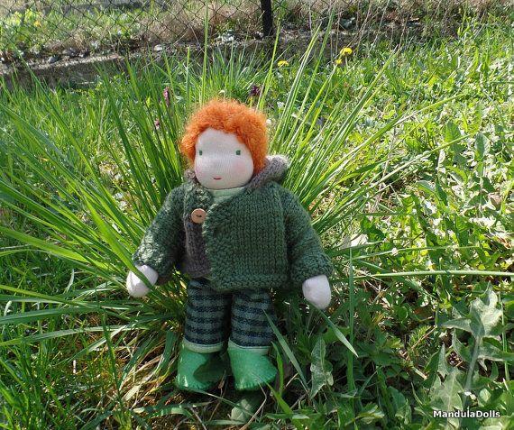 Botond - 25cm (9.8 inch) waldorf inspired BOY doll