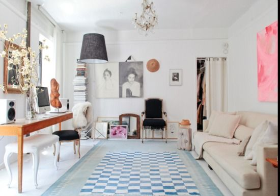 Halcyon Style: Apartment Crush: Olympia Bermann's NYC Flat
