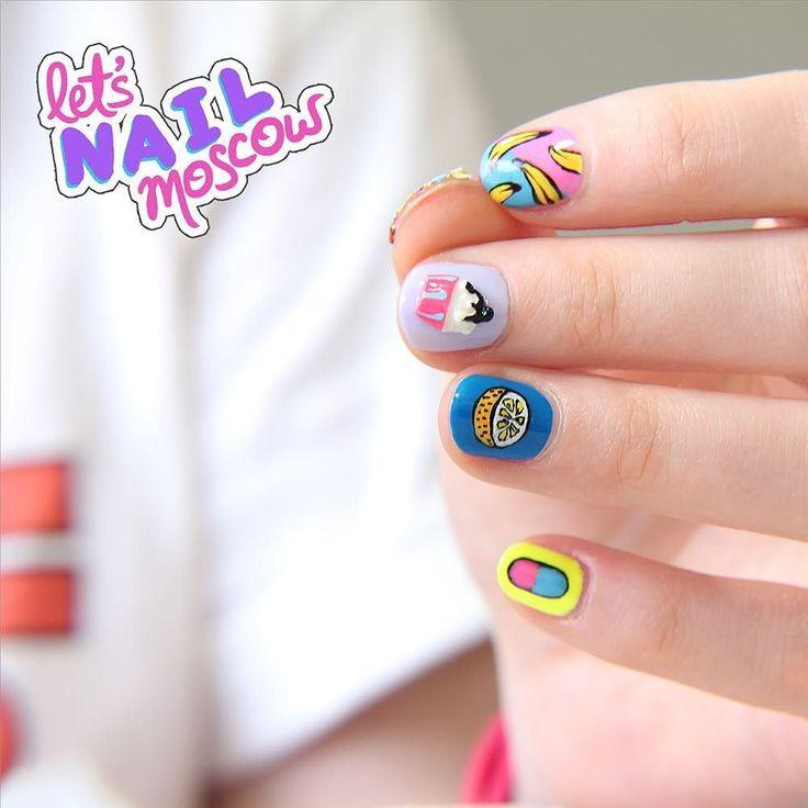 #nails #nailart #beautifulnails #funnails #ногти #маникюр #красивыеногти #summernails #летнийманикюр  Был уже ага  Но он такой классный! Я все не могу нарадоваться