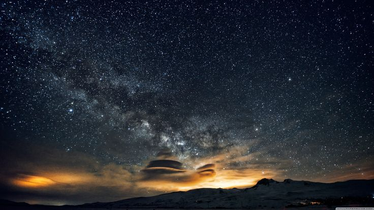 Starry Mountainset