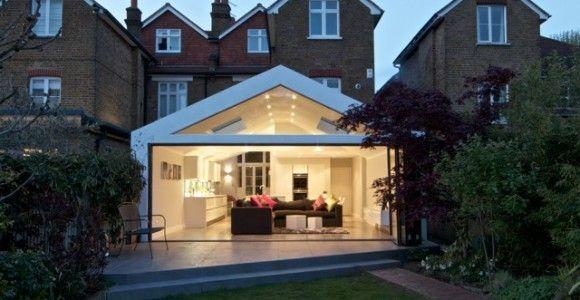 kitchen extension glass - Google Search