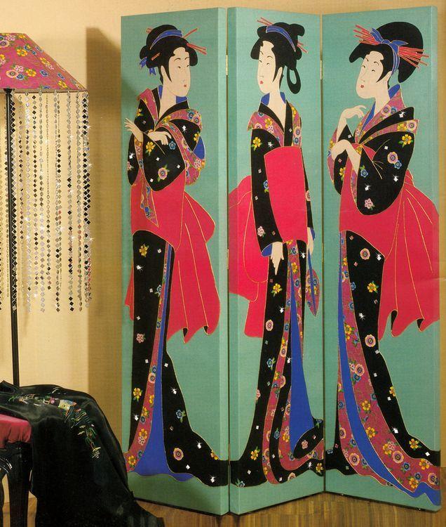Decoratiuni interioare cu motive africane si asiatice - atmosfera japoneza