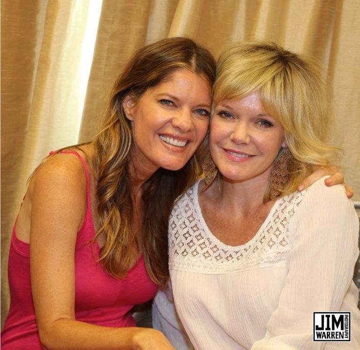 Michelle Stafford and Maura West