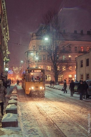 Winter in Lviv - Ukraine. :: Such a beautiful country. Why must Russia interfere? #PutDownYourPhone #Carde