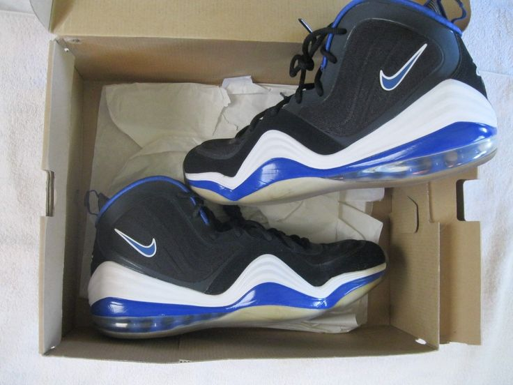 Very Nice Mens 2012 Nike Air Penny V Athletic Basketball Shoes SZ 13