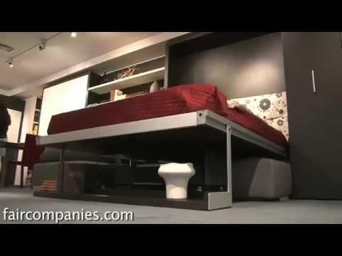 Centro de entretenimiento multifuncional con giro de 360º, (Muebles para tv Modernos) - YouTube