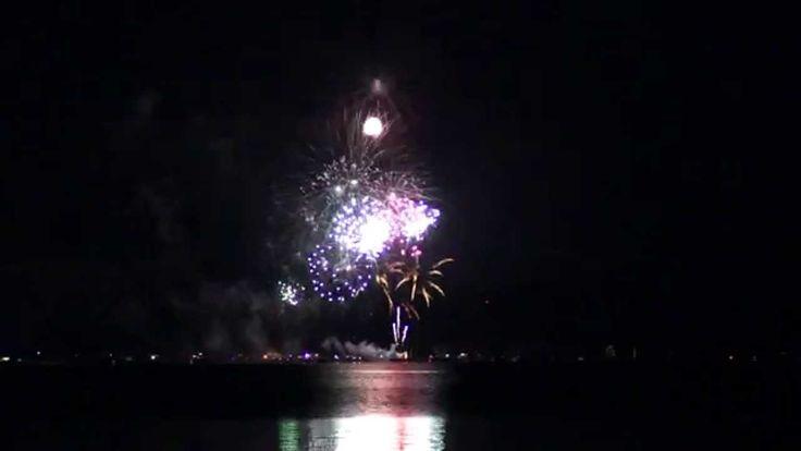 Dümmer brennt 2014 Feuerwerk