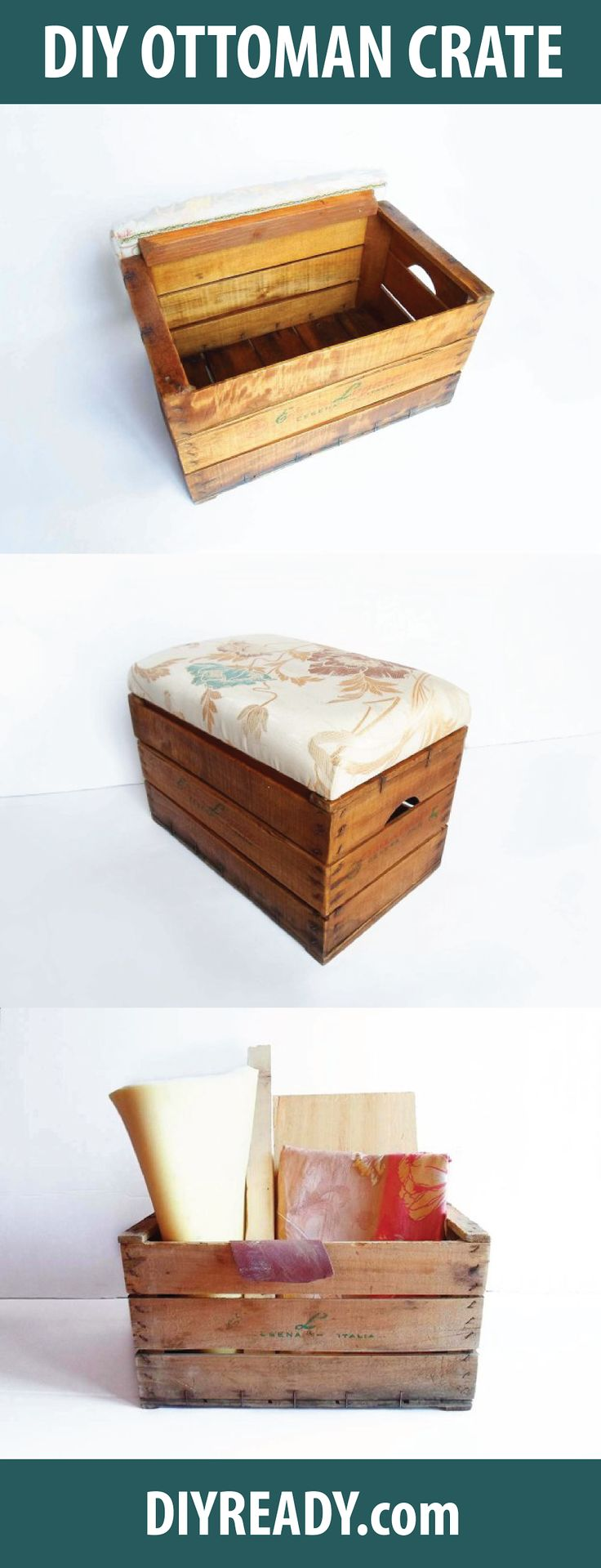 how to make a storage ottoman