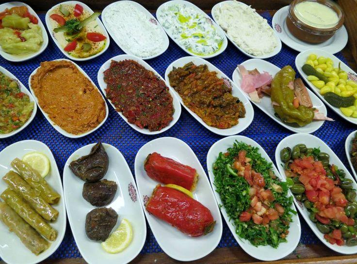 233 best turkish images on pinterest turkish recipes turkish turkish mezze feast to recreate at home forumfinder Choice Image
