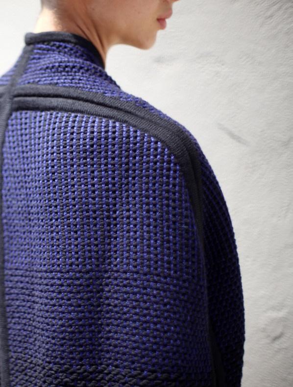 Weave Knit Cape