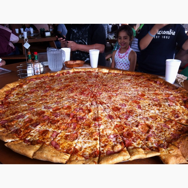 42 Inch Pizza From Lou S In San Antonio